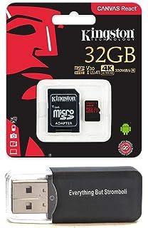 Amazon.com: Kingston 64 GB Micro SD XC tarjeta de memoria ...