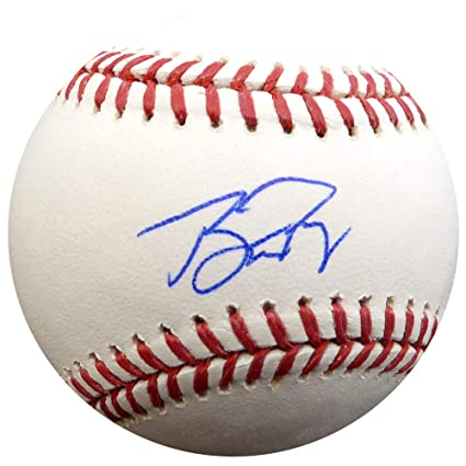 new arrival 40456 e9815 Buster Posey Autographed Official MLB Baseball San Francisco ...