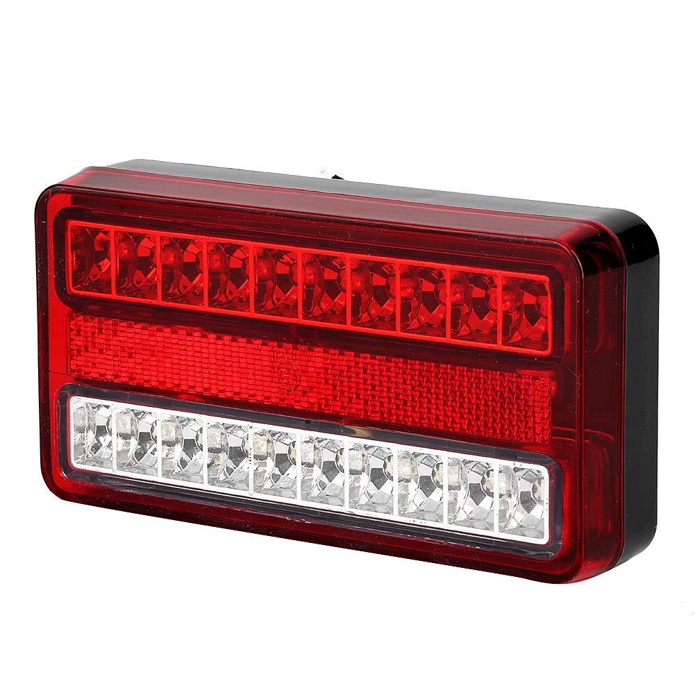 12V 75-LED Universal impermeable luz trasera cami/ón remolque barco freno trasero luz trasera marcha atr/ás l/ámpara indicadora para cami/ón remolque