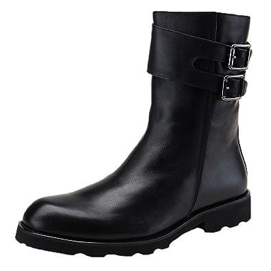 Mens Zipper Cowboy Boots