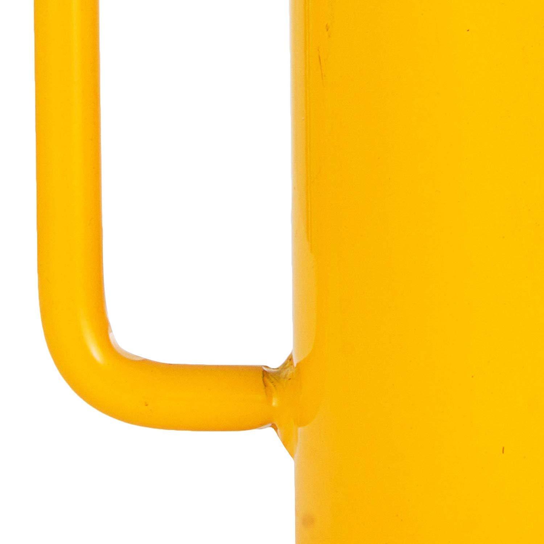 FlowerW 20T//44000LBS Hollow Hydraulic Cylinder Jack 100mm Plunger Ram Hydraulic Solid Cylinder Hydraulic Jack for Car//Van//Boat//Truck//Caravan