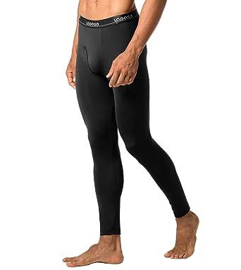 30552c26a LAPASA Men's Thermal Underwear Pants Fleece Lined Long Johns Leggings Base  Layer Bottoms 2 Pack M10