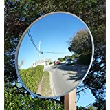 """Safety Traffic Mirrors ,Outdoor Universal Convex Security Mirrors ,Including Mounting Bracket (24 """" inches, Outdoor Universal Mirror)"""