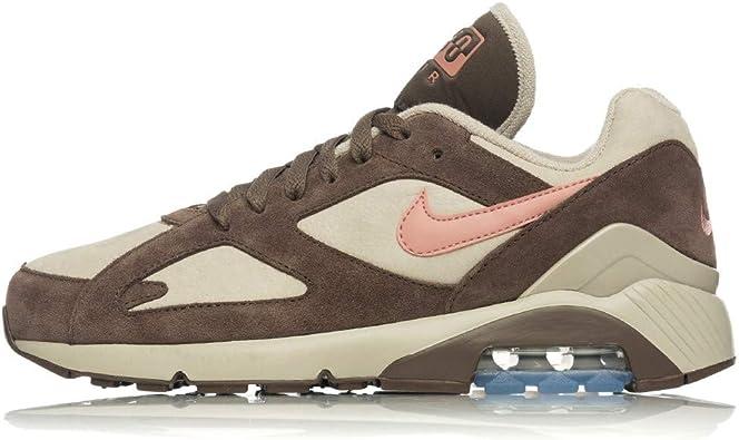 moda mejor valorada gran variedad de estilos nuevo concepto Zapatillas NIKE Air MAX 180 Marron/Beige Hombre: Amazon.es ...
