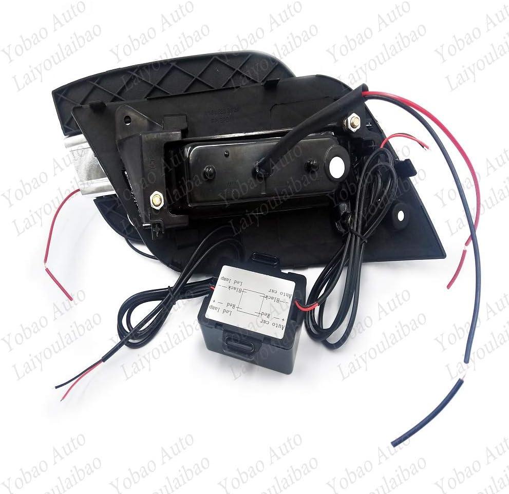 Nebelscheinwerfer vorne mit LED-Lampen Ersatz f/ür Benz ML350 W164 2009 2010 2011 Linke und rechte Seite LED DRL Tagfahrlicht