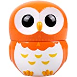 Timers - TOOGOO(R) Cartoon Owl Kitchen Timers 60 Minutes Cooking Mechanical Home Decoration (Orange)