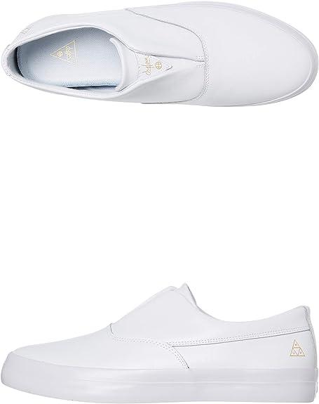HUF Skateboard Shoes Dylan Slip On White