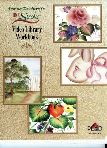 - Donna Dewberry's One Stroke Video Library Workbook (AD246BOOK)
