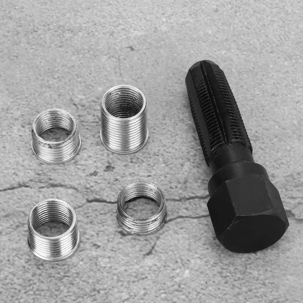 14mm M-14 Bigking Kit de r/éparation de Filetage 1.25 en Acier Trou de Bougie dallumage Outil de r/éparation de Filetage r/ég/én/érateur de Fil