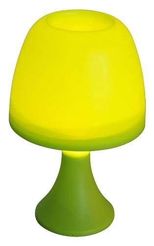 homea 5ecl193vc lámpara de mesa en De Pila plástico amarillo ...