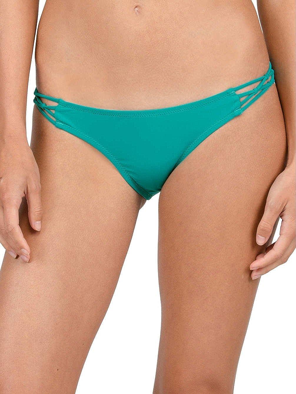 Volcom Womens Simply Solid Full Bikini Bottom