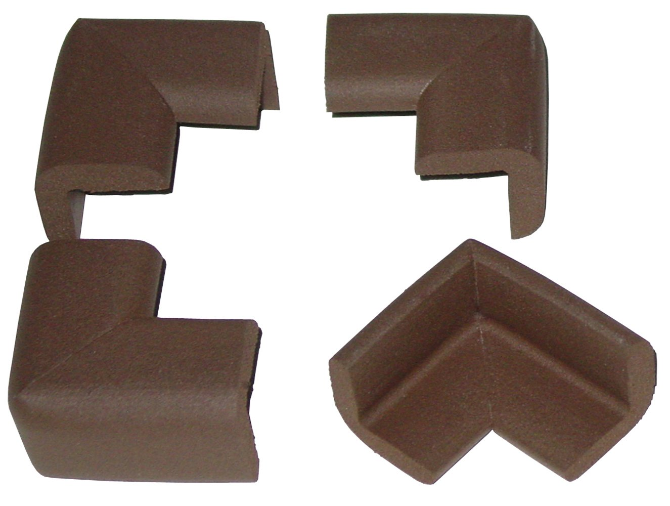 Kidkusion Corner Cushion, Brown, 16-Count