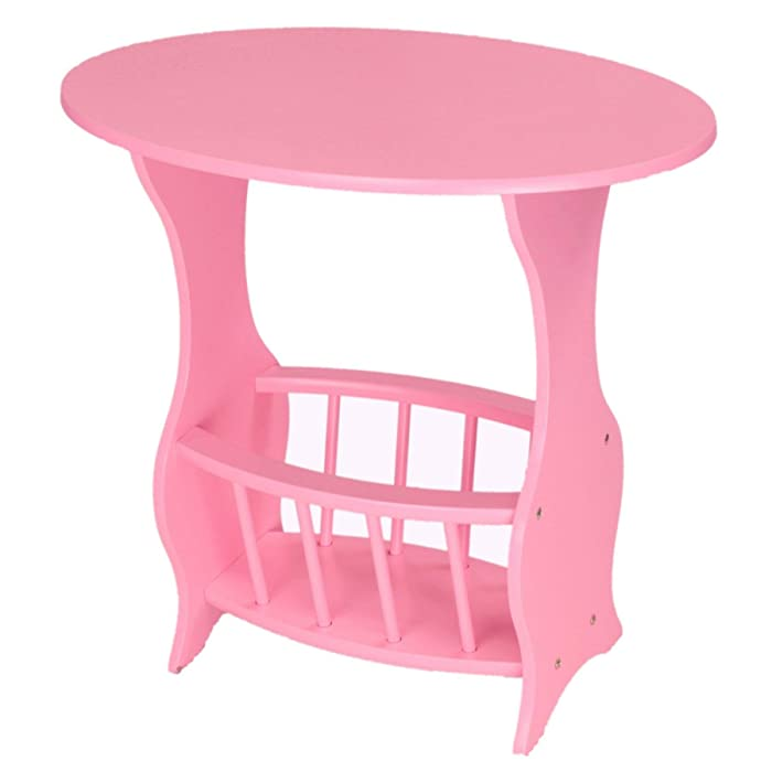 Frenchi Home Furnishing Magazine Table, Pink