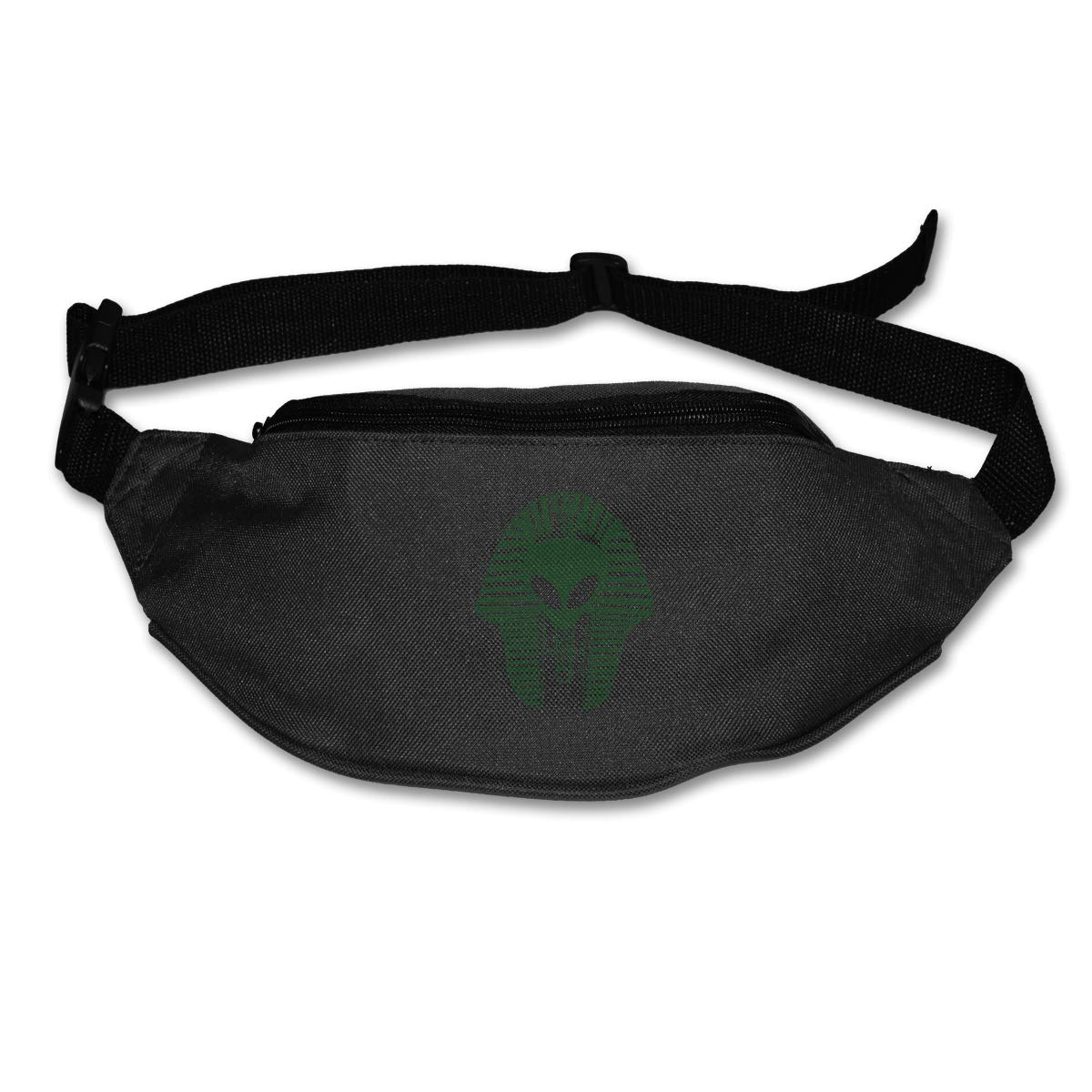 Alien Egyptian Mask Sport Waist Packs Fanny Pack Adjustable For Hike