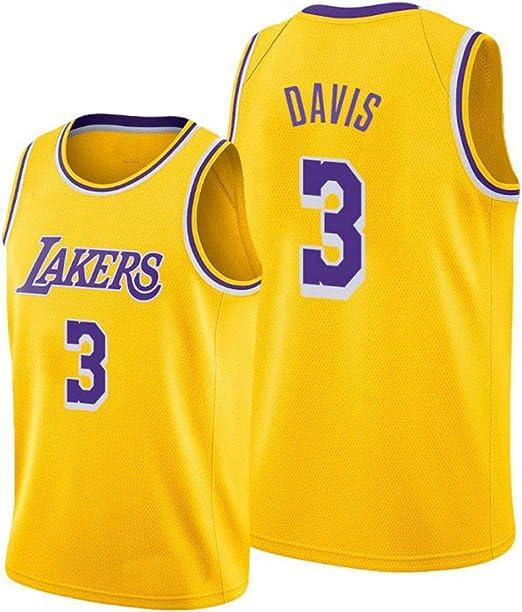 Anthony Davis 3 - Camiseta de baloncesto, diseño de Los Angeles ...