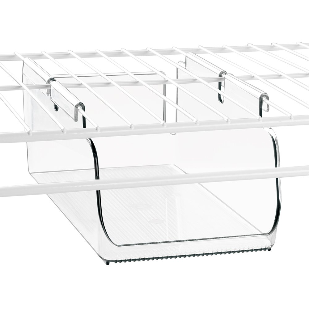 InterDesign Tru-Grasp Hang Bin, Divided, Medium 45370
