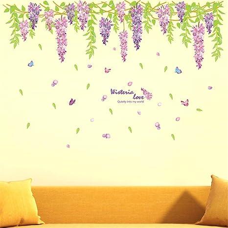 Color glicine chiaro pareti risultati immagini per camera for Tende lilla glicine