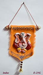 Terracotta Wall Hanging Jute ( Single Ganesh ) / Decorative Wall Hanging /Jute Wall Hanging / Wall Hanging Decor / Wall Hanging for Living Room / Handmade Wall Hanging / Decorative Items / Handcrafted Wall Hanging