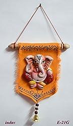 Terracotta Wall Hanging Jute ( Single Ganesh ) / Decorative Wall Hanging /Jute Wall Hanging / Wall Hanging Decor / Wall Hanging for Living Room / Handmade Wall Hanging / Decorative Items / Handcrafted Wall Hanging