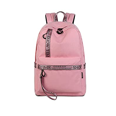 91eb48e6f7 Image Unavailable. Image not available for. Color  Waterproof Fabric Women  Daily Backpack ...