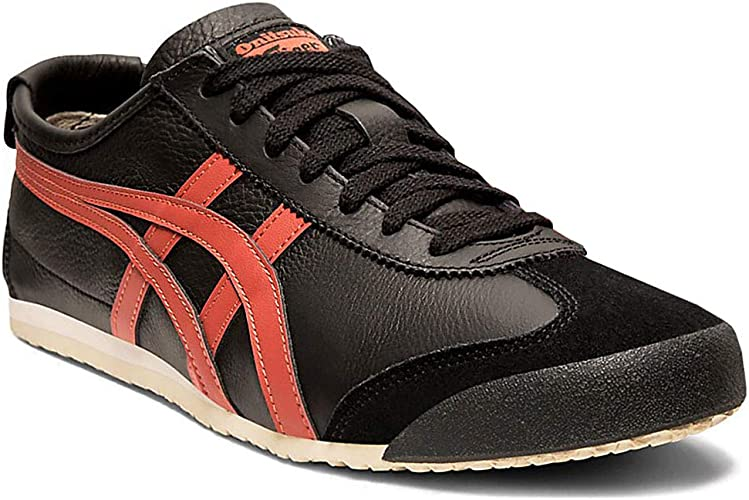 onitsuka tiger mexico 66 black and red 3st