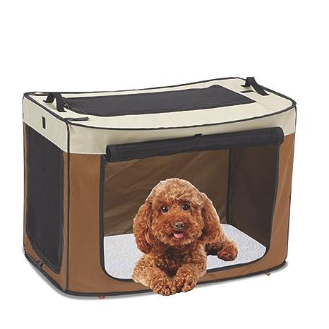 Caja Impermeable para Mascotas, Plegable, Jaula Portátil para Aviación, Jaula para Perros Grande