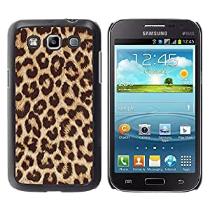 For Samsung Galaxy Win / I8550 / I8552 / Grand Quattro Case , Fur Animal Big Cat Pattern Africa - Diseño Patrón Teléfono Caso Cubierta Case Bumper Duro Protección Case Cover Funda