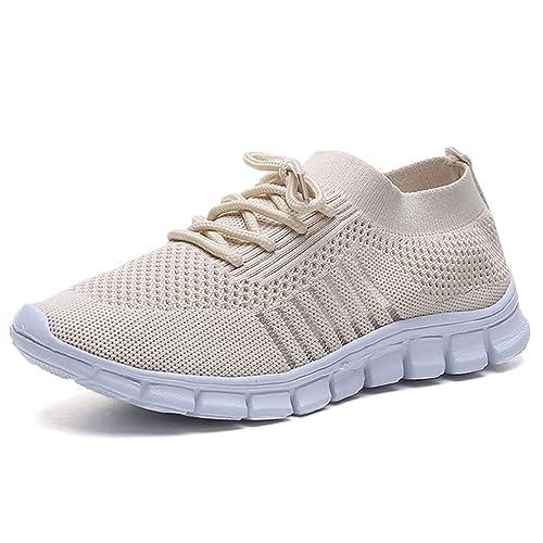 Scarpe Sportive Donna Scarpe da Ginnastica Leggero Scarpe da Corsa Palestra Running Sneaker Outdoor Respirabile