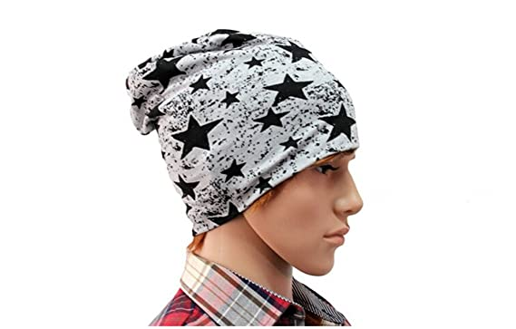 f2eeb501163 Fletion Unisex Newest Fashion Men Women Slouch Baggy Chunky Hiphop Style  Beanie Pure Cotton Cap Winter Warm Ski Beanie Hat  Amazon.co.uk  Clothing
