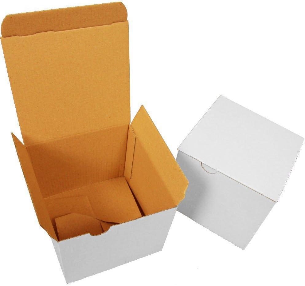 1600 Caja 120 x 120 x 110 mm pequeño automático plegable cartón Cardboard Speedy Box: Amazon.es: Oficina y papelería