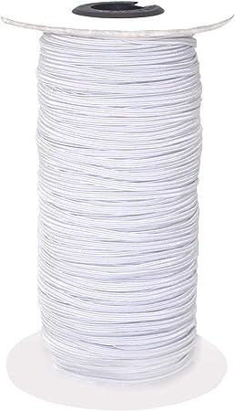 Bedspread Elastic Bands Sewing 1//4 Inch Flat Elastic Cord Heavy Elastic String for Crafts DIY Cuff