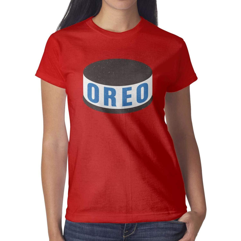 Kisspng Oreo Cream Biscuits Nabisco Short Sleeve T Shirts Crew Neck Printing Skin Friendl