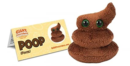 GIANTmicrobes Poop Plush Toy