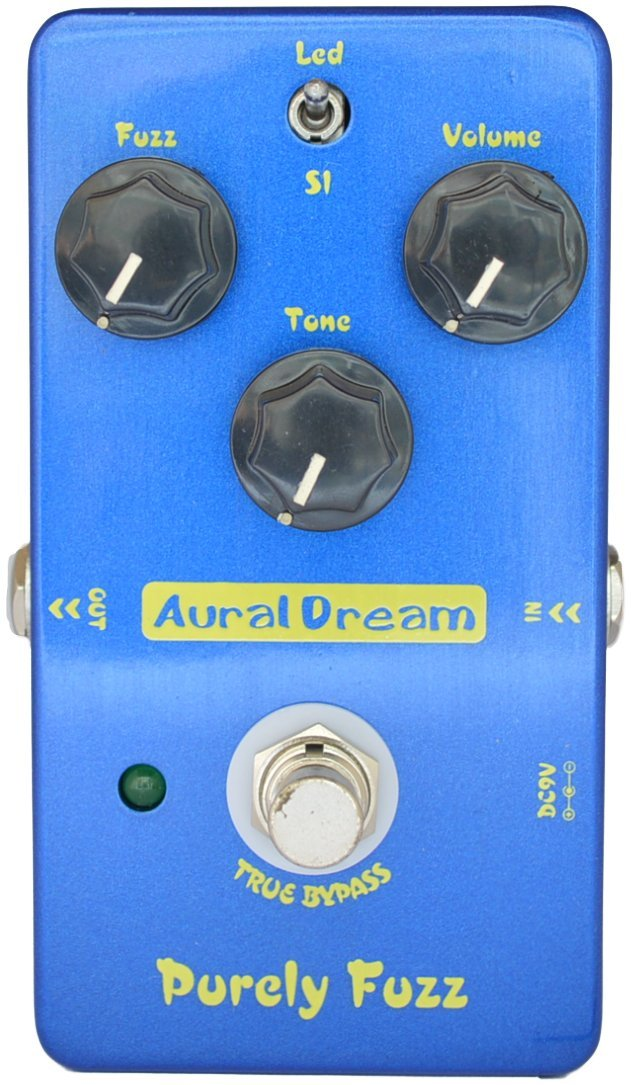Aural Dream Purely Fuzz Classic '60s and '70s tone 2 modes Guitar effect pedal True Bypass