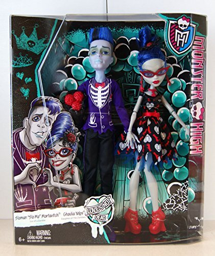 amazon com monster high love s not dead 2 pack slo mo ghoulia