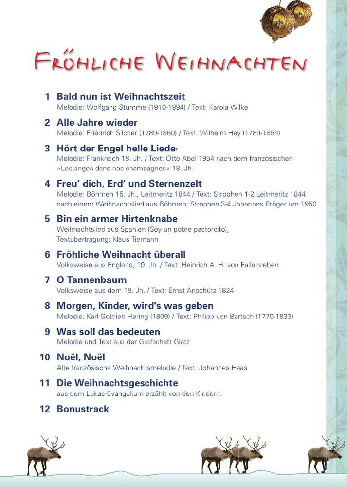 Audiogrußkarte FRÖHLICHE WEIHNACHTEN: Amazon.de: Hamburger Kinder ...