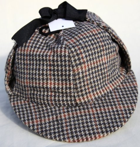 cb64fe39845 Thorness Traditional Deer Stalker Hat US Size 7½ - Buy Online in ...