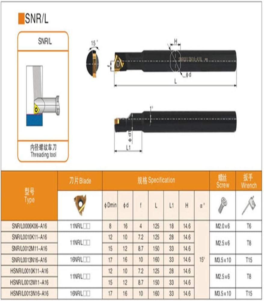 Gaobey SNR0012M11-16 Lathe Turning Tool Boring Bar Holder
