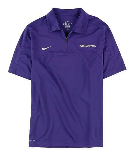 23b905cdcd0 Amazon.com: Nike Mens Uw 1/4 Zip Rugby Polo Shirt: Sports & Outdoors