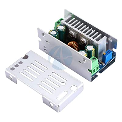 Phoncoo DC DC 15A 200W 60V Adjustable Step Down Converter Buck Board Adjustable Voltage Module Stabilized Synchronous Rectification: Toys & Games