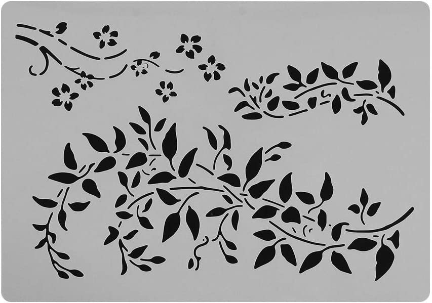 Pochoir maylace Planche /à Dessin mod/èle Creux Peinture a/érographe estampage 1 Cadeau pour Enfants Scrapbooking Bricolage