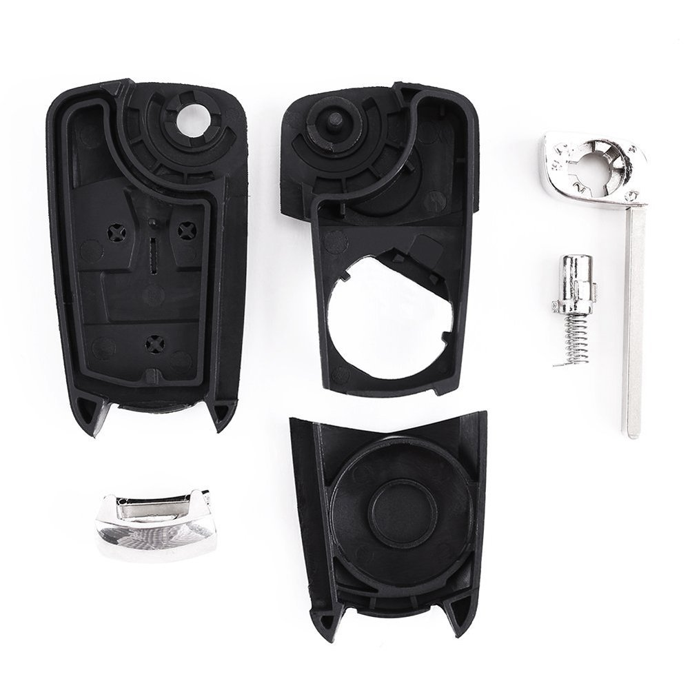 2 Button Remote Key Fob Case Shell for Toyota Rav4 Yaris Corolla Celica Prius