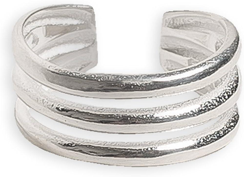 Ring Midi or Toe Ring Wave Chevron