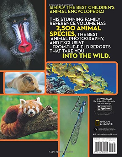 National Geographic Animal Encyclopedia: 2,500 Animals with Photos, Maps, and More! (Encyclopaedia) by National Geographic (Image #1)
