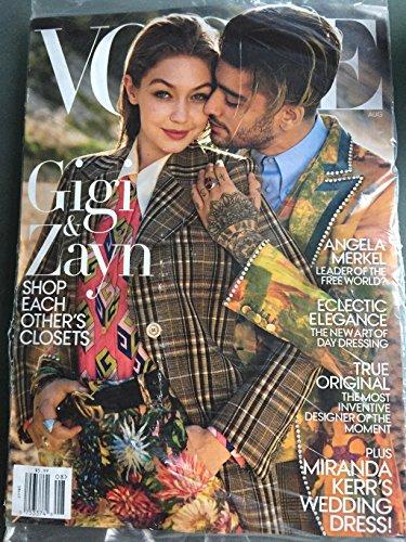 Vogue Magazine (August, 2017) Gigi Hadid and Zayn Malik - Hadid Vogue Gigi