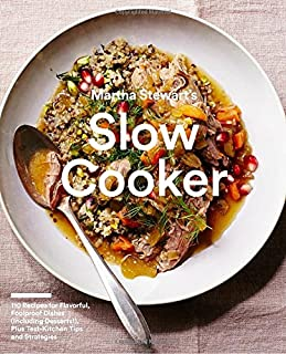Book Cover: Martha Stewart's Slow Cooker: 110 Recipes for Flavorful, Foolproof Dishes