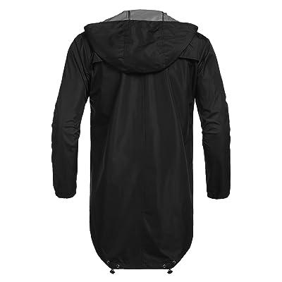 Details about  /COOFANDY Men/'s Waterproof Rain Jacket Lightweight Hooded Outdoor Running Cycling