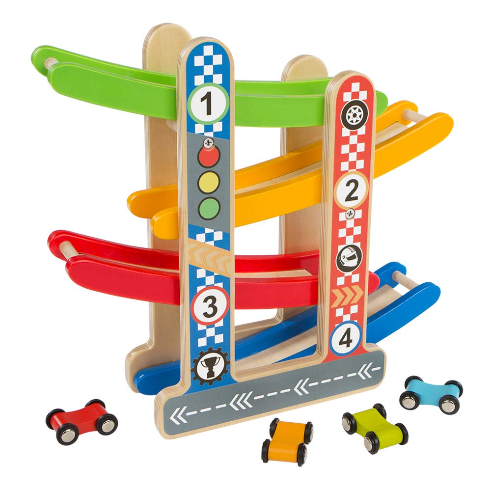 ColorBaby Play&Learn Circuito coches madera Multicolor (46215) product image
