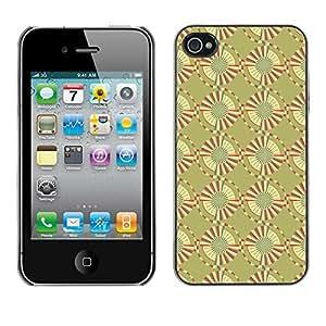 ZECASE Funda Carcasa Tapa Case Cover Para Apple iPhone 4 / 4S No.0004562