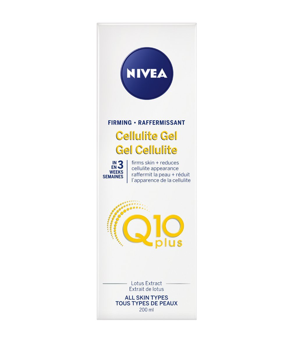 Q10 Plus by Nivea Firming Good-Bye Cellulite Gel-Cream 200ml 056594881518